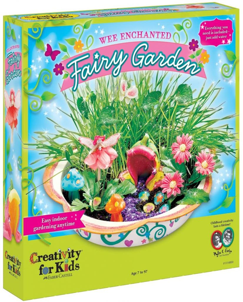 Creativity for Kids Enchanted Fairy Garden Craft Kit