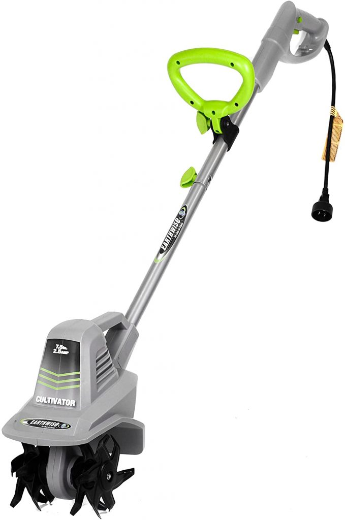 Earthwise TC70025 7.5-Inch 2.5-Amp Corded Electric Tiller Cultivator