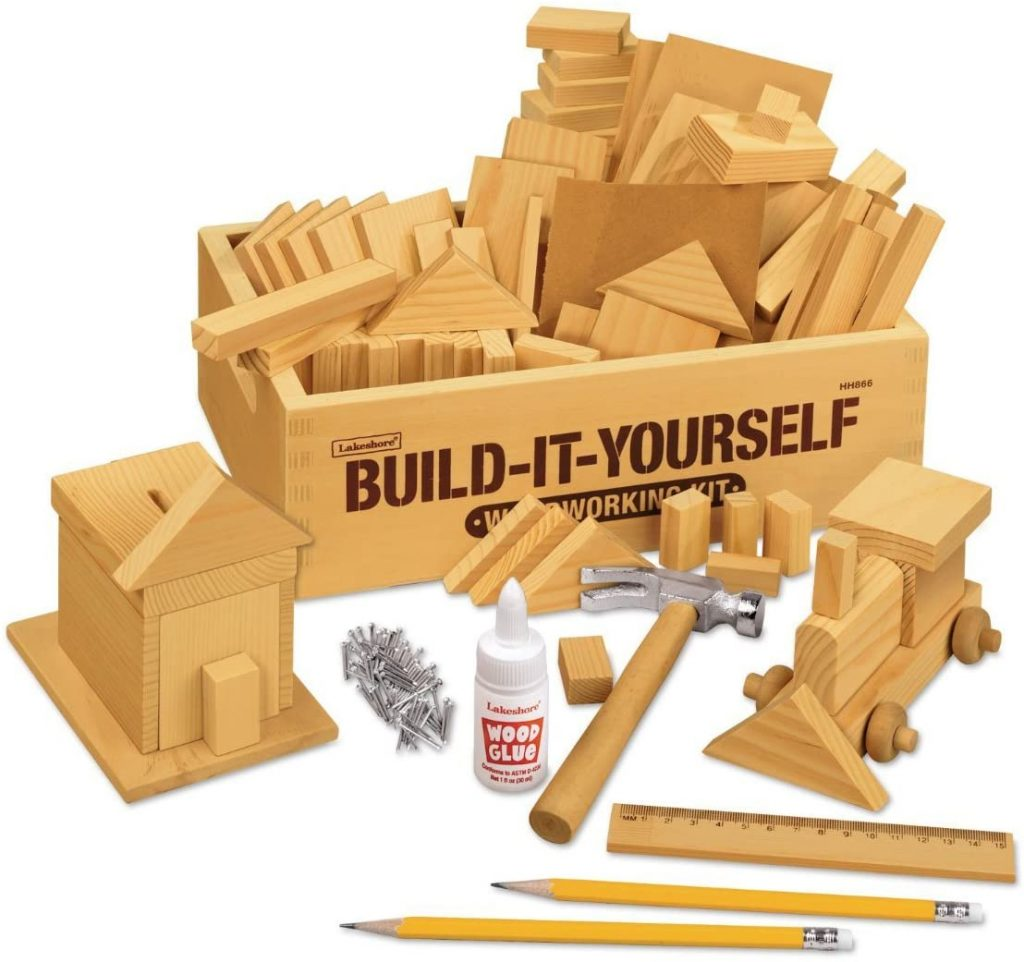 Lakeshore Build-It-Yourself Woodworking Kit