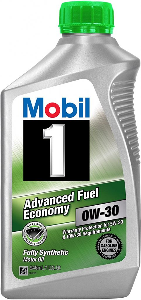 SAE 5w-30 - best oil for lawn mower
