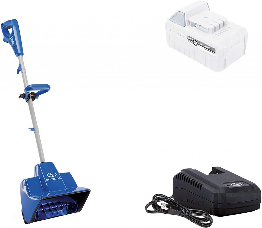 Snow Joe 24V-SS11-XR 24-Volt iON+ Cordless Snow Shovel Kit
