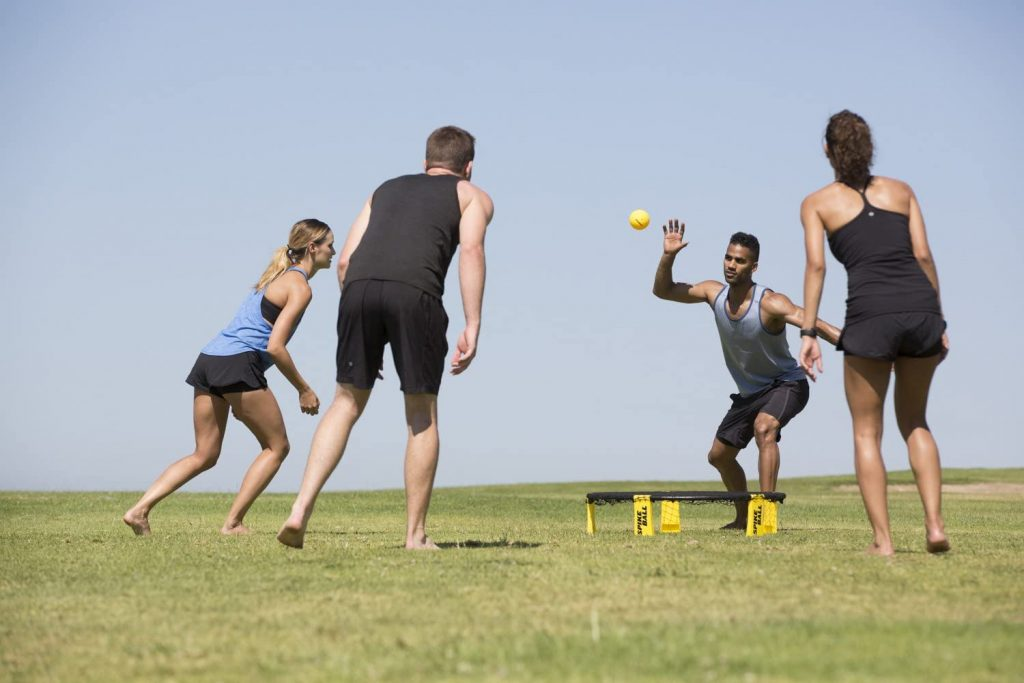 Spikeball Game Set - Played Outdoors, Indoors