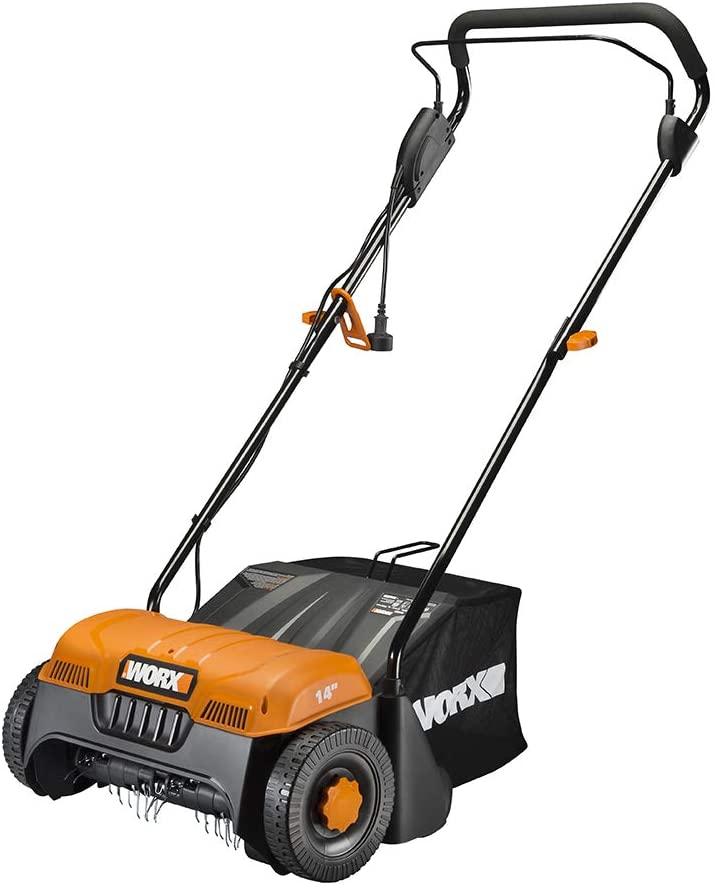 WORX WG850 12 Amp 14 inch Corded Electric Dethatcher