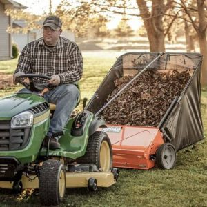 What are the Best Tow-Behind Lawn Sweepers?