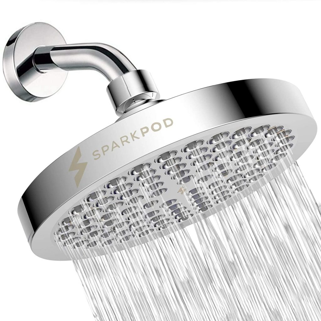 SparkPod Shower Head - High Pressure Rain