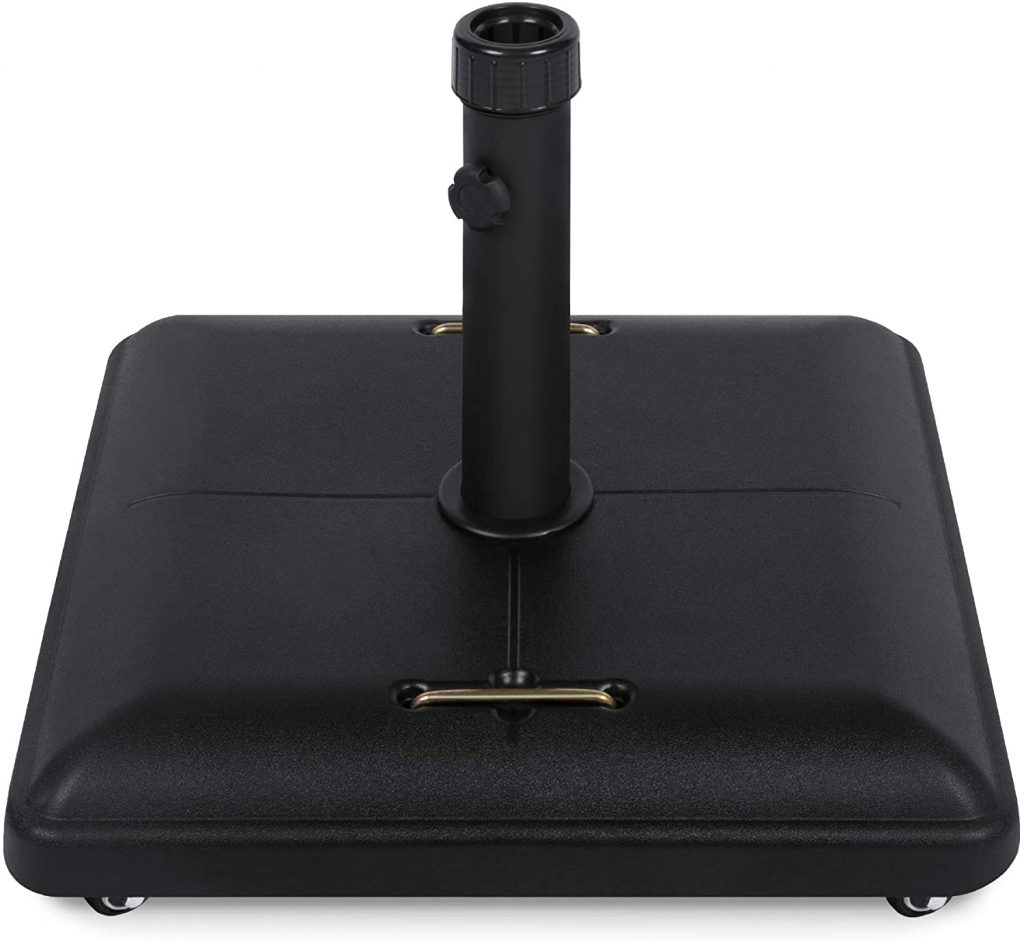 Best Choice Products Umbrella Base Stand with Locking Wheels