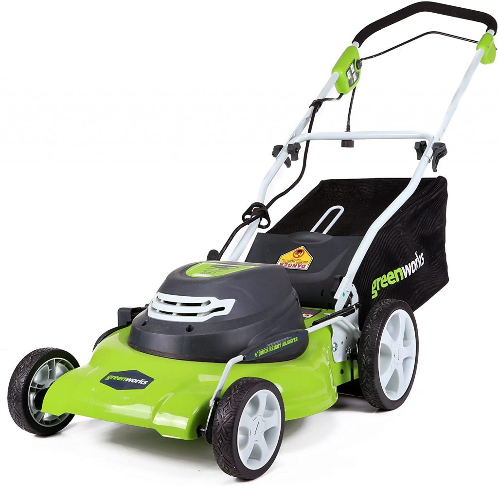 Greenworks 12 Amp Electric Corded Lawn Mower